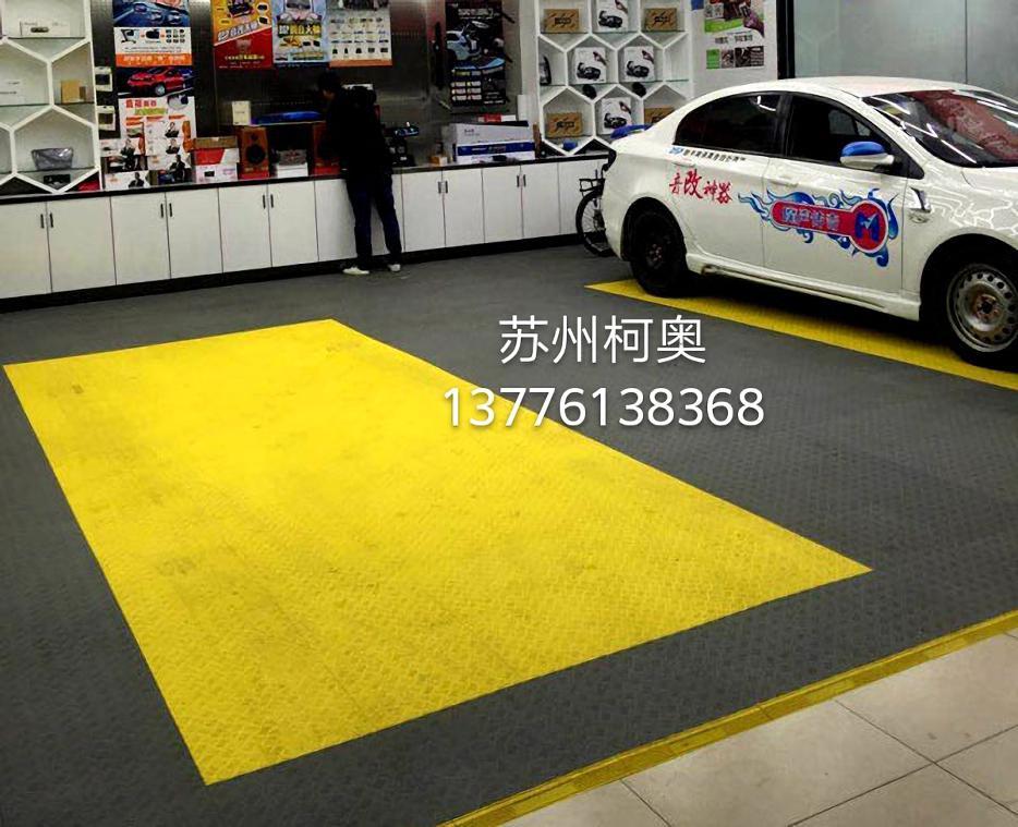 汽车修理厂地板 防滑防油污维修车间地板